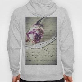 love letter with pearls and rose Hoody