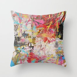 The Radiant Child Throw Pillow