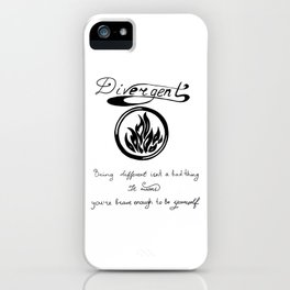 Can't be controlled iPhone Case