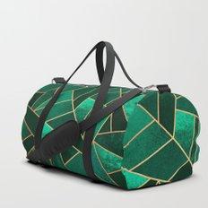 Emerald and Copper Duffle Bag