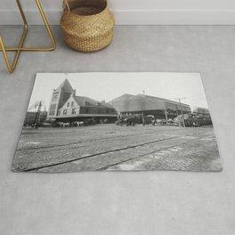 New York Central Railroad depot, Syracuse, N.Y. Rug
