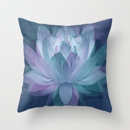 Softly... Throw Pillow