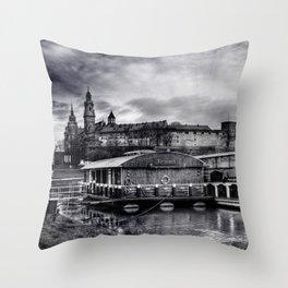 Victoria And Sobieski Throw Pillow