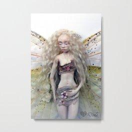 Cabbage Fairy specimen Metal Print