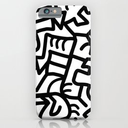Dazed and Confused in the Morning iPhone Case