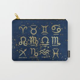 The 12 Zodiac Signs Carry-All Pouch