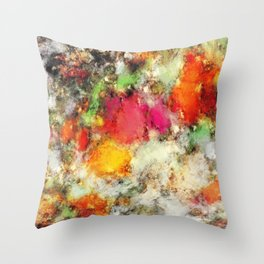 A narrow escape Throw Pillow
