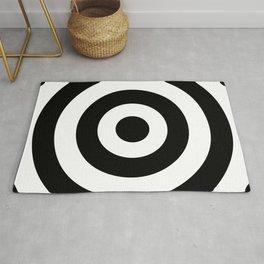 Target (Black & White Pattern) Rug