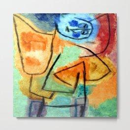 Paul Klee Stuffed Angel Metal Print