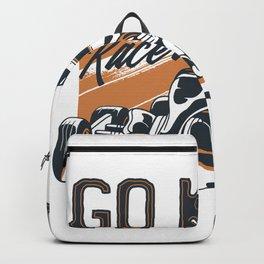 Go Kart Racer Backpack