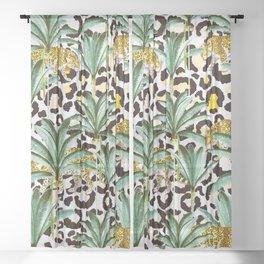 Jungle prowl Sheer Curtain