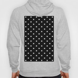DOTS (WHITE & BLACK) Hoody