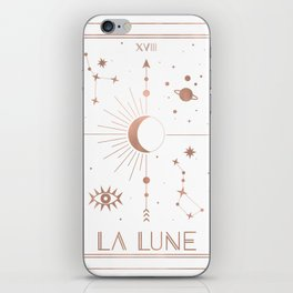 La Lune or The Moon White Edition iPhone Skin