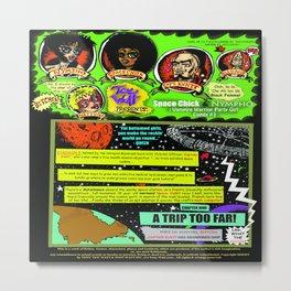 Page #1 of Tex Watt's  (UNCENSORED) SUNDAY COMIX POP-ART! Metal Print