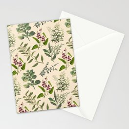 HERB GARDEN & CHAMPAGNE  Stationery Cards