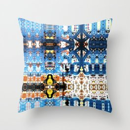 A bit of a lock. Throw Pillow