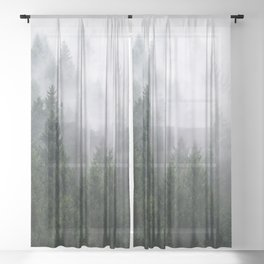 Home Is A Feeling Sheer Curtain