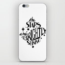 The Stars are Brightly Shining iPhone Skin