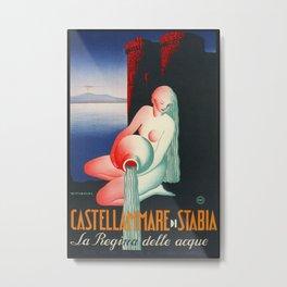 Castellammare di Stabia - Naples Italy Metal Print