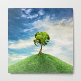 World Tree Metal Print
