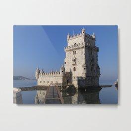 Castelo de Belem, Lisbon Portugal Metal Print
