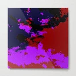 Ichiryu - Abstract Colorful Batik Camouflage Tie-Dye Style Pattern Metal Print