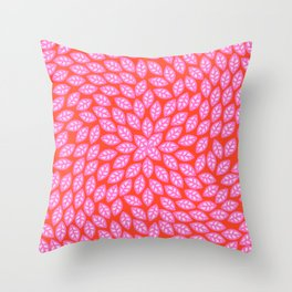 Leaves movement Throw Pillow