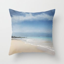 Walking out of Silence Throw Pillow