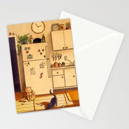 Kitchen Floor Stationery Cards