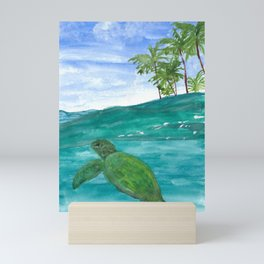 Honu World Mini Art Print