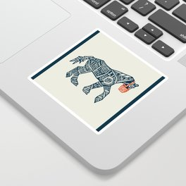 Iron Horse Sticker