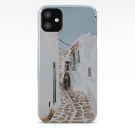 mykonos / greece iPhone Case