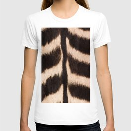 Zebra - zebra stripes -zebra skin - genuine - beautiful  T-shirt