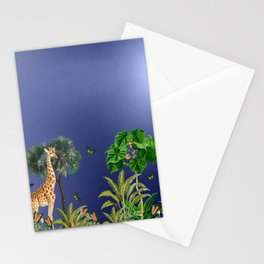 Exotic And Colorful Jungle Design 2 Stationery Cards