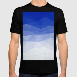 Imperial Lapis Lazuli - Triangles Minimalism Geometry T-shirt