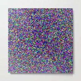 color rectangles 07 - static Metal Print