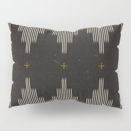 Southwestern Minimalist Black & White Pillow Sham