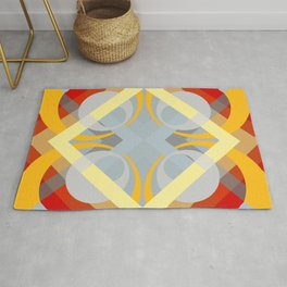 Semoon - Colorful Abstract Art Rug