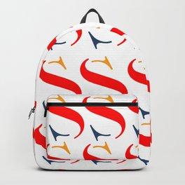 Bauhaus font art vintage Backpack