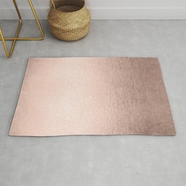 Moon Dust Rose Gold Rug