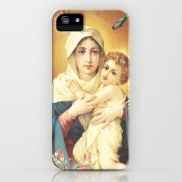 Schoenstatt Matter Maria God iPhone Case