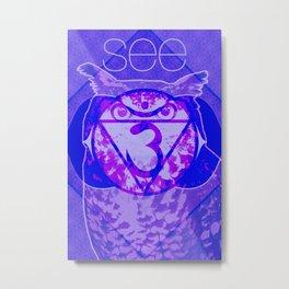 Ajna—Third-Eye Chakra Metal Print