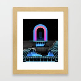 DÉTRUIT 1984 Framed Art Print