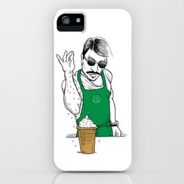 Coffee Bae iPhone Case