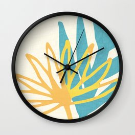 Happy Summer Abstract Wall Clock