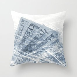 One Hundred and Seventy Six Dollars Throw Pillow