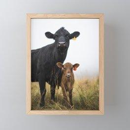 One and One Framed Mini Art Print