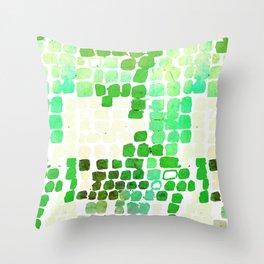 Snake Skin Green #animalprint #homedecor Throw Pillow