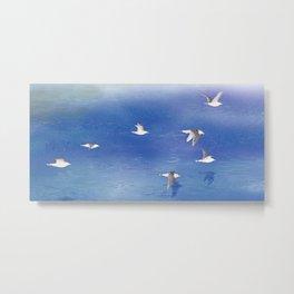 Black-tailed Gull | Miharu Shirahata Metal Print