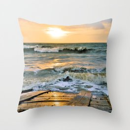 King Tide 2 Throw Pillow